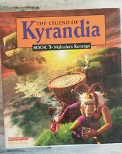 Legend of Kyrandia: Book 3 Malcolm's Revenge (PC, 1994) Complete Big Box