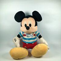 "Disneyland Paris Exclusive Mickey Mouse Plush Soft Toy   French Disney 13"""