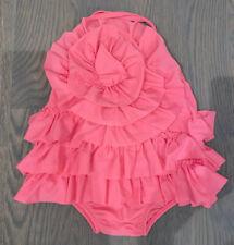 Mud Pie Toddler 4T Pink Flower Swimsuit