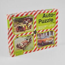 Auto-Puzzle-NSU-RO 80 & Panhard-Levassor de 1900-Vintage - 2 x 50 pièces