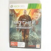 The Witcher 2 Assassins of Kings Enhanced Edition Complete Microsoft Xbox 360