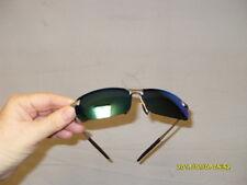 Polarized Sunglasses Metal Frame Anti-Glare UV400 Protection Lens Eyewear Silver