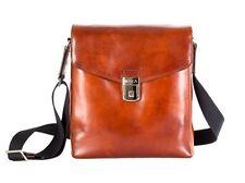 Bosca Old Leather Man Bag - Amber