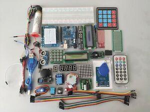 Kit Arduino Uno R3 kit d'apprentissage RFID LCD 1602 Kit de démarrage complet