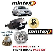 FOR LEXUS IS200D IS220D IS250 C 05-> MINTEX FRONT BRAKE DISC SET + DISC PADS KIT