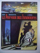 HIRN BRUNSCHWIG LE POUVOIR DES INNOCENTS 1. JOSHUA 1992 DELCOURT NEOPOLIS TBE