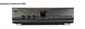 Technics SU V620 Stereo Integrated Amplifier. USED