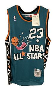 NWT Michael Jordan Mitchell & Ness Size 50 XXL NBA All-Stars Basketball Jersey
