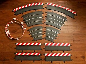 MIXED LOT USED CARRERA 1:24 SLOT CAR TRACK GOOD CONDITION 11 PIECES