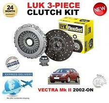 PARA OPEL VECTRA Mk II GTS 2.2 direct 02-EN ADELANTE LUK KIT DE EMBRAGUE
