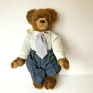 """Hermann Mohair Ltd Ed Teddy Bear Barak Obama White House Bear 16"""" 365 made"""