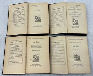 Mrs Jameson (4) Four Book Collection Women Ennuyee Love's Poets Memoirs 1880's