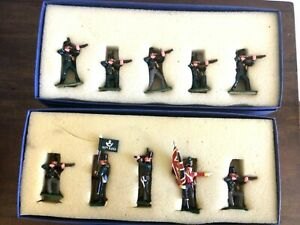 Regal Toy soldiers Napoleonic British 95th Rifles, Sharpes Rifles 10 figures