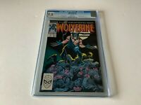 WOLVERINE 1 CGC 9.8 WHITE PAGES 1ST PATCH JOHN BYRNE MARVEL COMICS 1988 D4N