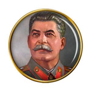 Joseph Stalin Pin Badge