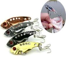 4pcs Metal VIB Fishing Lures Crankbaits Bass Crank Bait 3.5cm 3.2grams  US