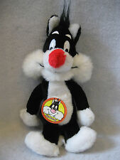 "1971 vintage Sylvester Mighty Star plush figure 15"" toy Warner Brothers w/ Tag !"