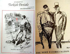 1896+ MEDIA Quotations Caricatures Caricature Turkish Denials- ARMENIAN GENOCIDE
