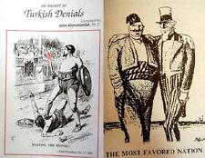 1896+ MEDIA Quotations Caricatures Caricature Turkish Denials- ARMENIAN GENOCIDE