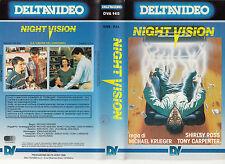 NIGHT VISION (1988) VHS