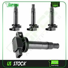 NEW Ignition Spark Coil Coils Set of 4 UF-316 For Toyota Prius Yaris Scion xA xB