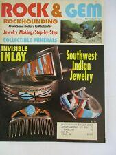 New listing 1991 November Vintage Rock & and Gem Magazine Rockhound Gold Hunters