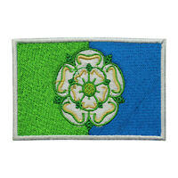 East Riding County Flag Patch Iron On Patch Sew On Embroidered Patch