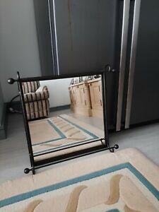 Wrought Iron square mirror
