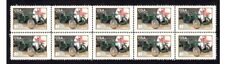 MG N-TYPE MAGNETTE AUTO ICON STRIP OF 10 MINT VIGNETTE STAMPS #4