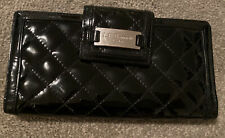 Ladies purse by L K Bennett black patent leather