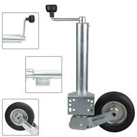Automatik Stützrad f. AL-KO Schwerlast 400 kg PKW Anhänger Trailer Rad 200x160mm