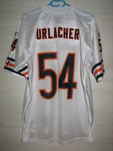 NFL #54 BRIAN URLACHER CHICAGO BEARS GSH SHIRT REEBOK JERSEY SOCCER SIZE M
