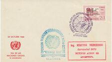 ARGENTINIEN 1960 Tag der Vereinten Nationen DIA DE LAS / NACIONES / UNIDAS