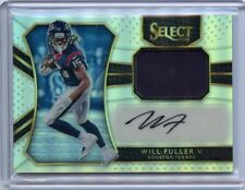 2016 Panini Select #RM-WF Will Fuller Autograph Jersey 67/75 Rookie Card