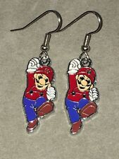 MARIO Earrings Surgical Hook New Super Cart Gaming