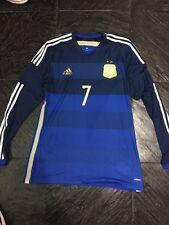 ARGENTINA MATCH WORN SHIRT #7
