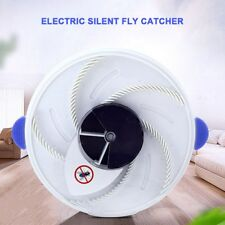 Electric Rotating Fly Killer Zapper Automatic Inset Catcher Pest Control Home