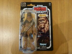 """Star wars the black series Chewbacca closed mouth ver brand new on card ESB 6"""""""