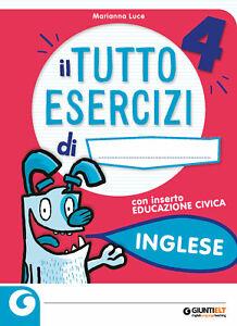 TUTTO ESERCIZI INGLESE  4  (sconto multiplo 5%+corriere espresso)