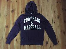 FRANKLIN & MARSHALL LADIES PURPLE HOODIE - MEDIUM