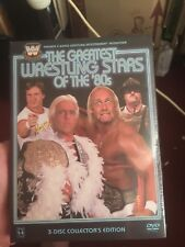 WCW THE GREATEST WRESTLING STARS OF THE'80s DVD. Brand-New And Sealed R1