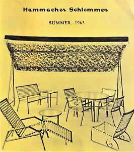 HAMMACHER SCHLEMMER SUMMER 1965 CATALOG in FINE condition