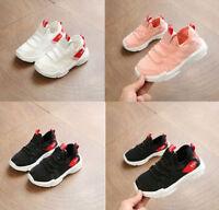 Kids Boys Girls Sport Running Sneakers Child Baby Walk Tennis Shoes ISZ US 5-13