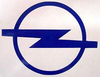 Opel Logo Sticker 9cm x 12cm Body Panel, Decal, Graphic, Window/Windscreen