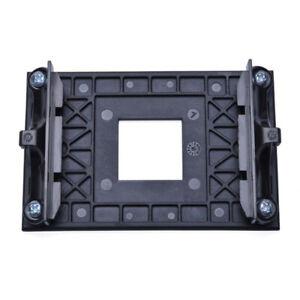 Black CPU Socket Mount Cooling Fan Heatsink Bracket Dock For AM4 X370 B350 A320