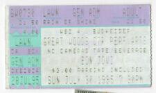 1995 BON JOVI Concert Ticket TOUR Stub MASSACHUSETTS Great Woods SAMBORA Jon