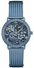 Guess W0822L3 Blue Dial Blue Stainless Steel Bracelet Women's Watch