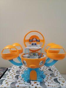 Mattel 2015 Octonauts Octopod Headquarters Playset Genuine w Sound Lights 🦈 🦈