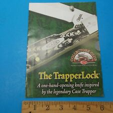 The Trapperlock Case Trapper Collectors Club 2009 Holiday Promotion Brochure