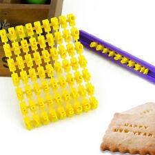 DIY Alphabet Letter Number Cake Biscuit Cookie Cutter Stamp Fondant Baking Mould